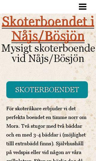 Mobile preview of skoterboendet.se
