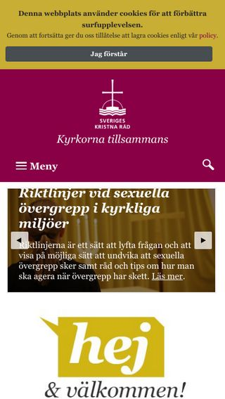 Mobile preview of skr.org