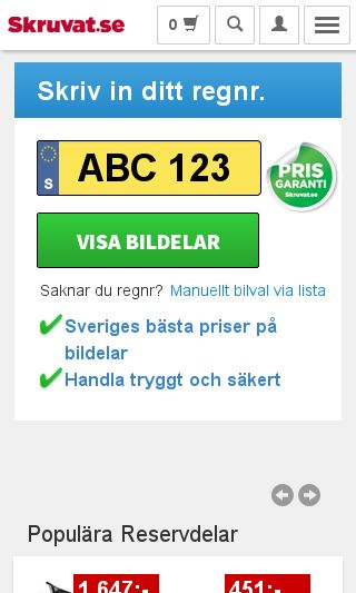 Mobile preview of skruvat.se
