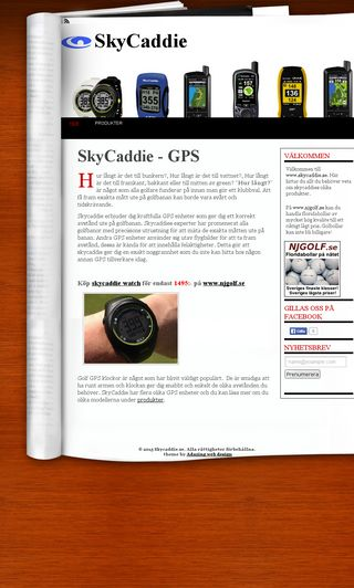 Mobile preview of skycaddie.se