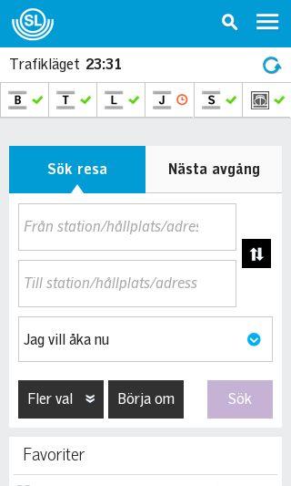 Mobile preview of sl.se