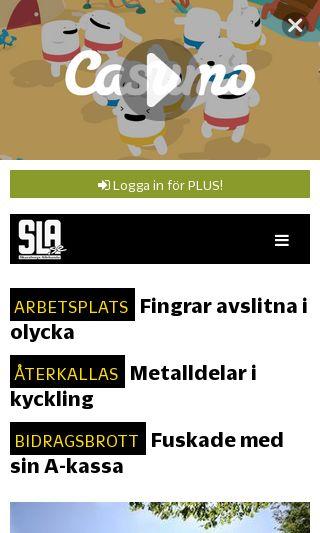 Mobile preview of bloggar.sla.se