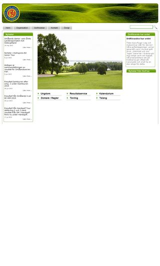 Mobile preview of smalandsgolf.se