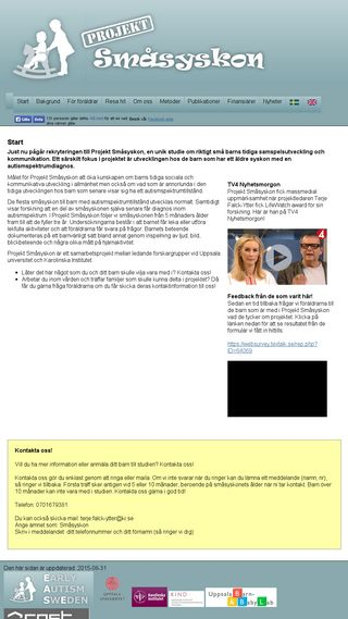 Mobile preview of smasyskon.se