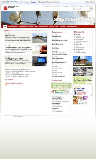 Mobile preview of smedjebacken.se