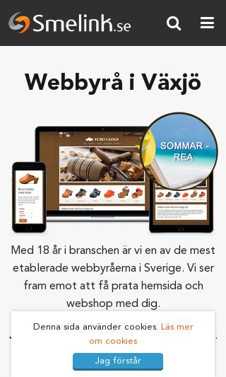 Mobile preview of smelink.se