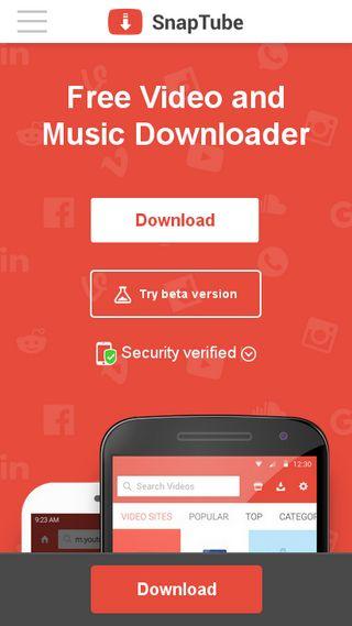 snaptube mp3 descargar gratis para iphone