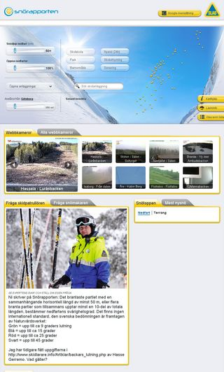 Mobile preview of snorapporten.se