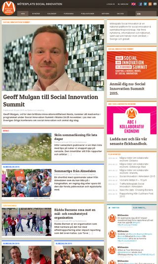 Mobile preview of socialinnovation.se