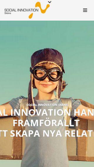 Mobile preview of socialinnovationskane.se