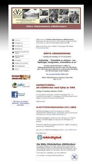 Mobile preview of sodravbforskare.se