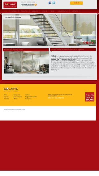Mobile preview of solare.com.ar