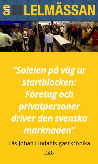 Mobile preview of solelmassan.se