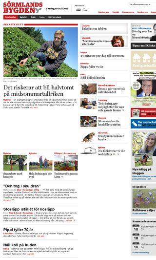 Mobile preview of sormlandsbygden.se
