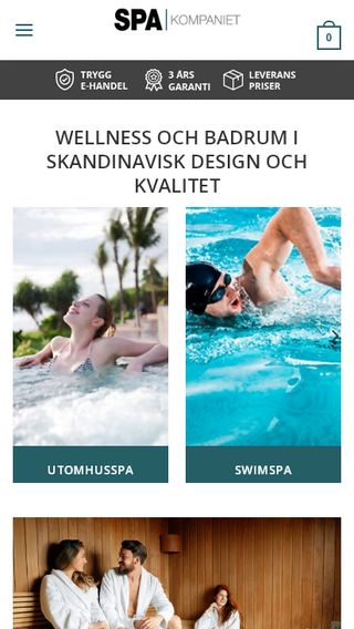 Mobile preview of spakompaniet.se