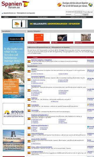 Mobile preview of spanienforum.se