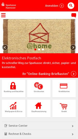 Mobile preview of sparkasse-hannover.de
