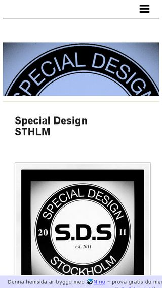 Mobile preview of specialdesign.n.nu