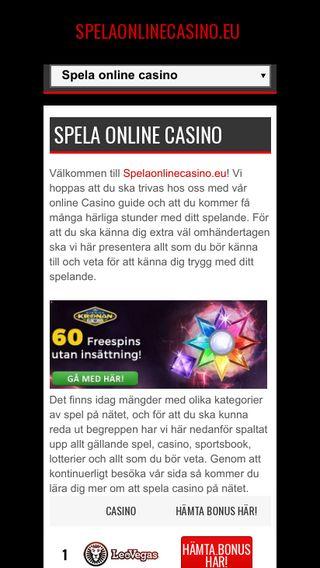 Mobile preview of bettapåallsvenskan.nu