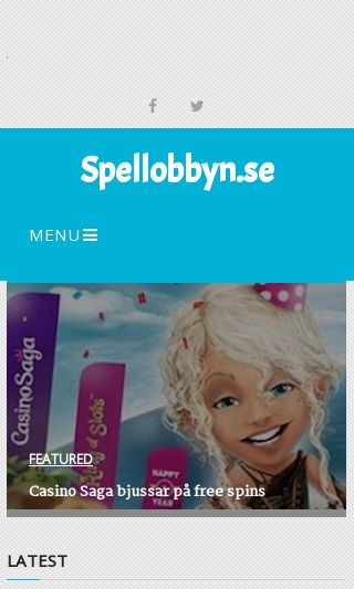 Mobile preview of spellobbyn.se