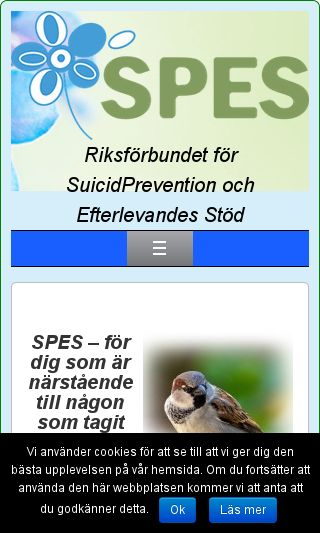 Mobile preview of spes.se