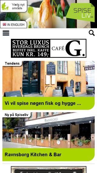 Mobile preview of spiseliv.dk