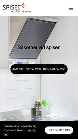 Mobile preview of spisvakt.se