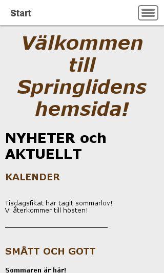 Mobile preview of springliden.se