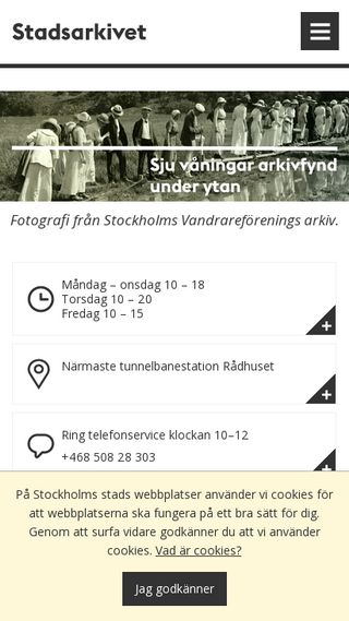 Mobile preview of ssa.stockholm.se
