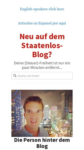 Mobile preview of staatenlos.ch