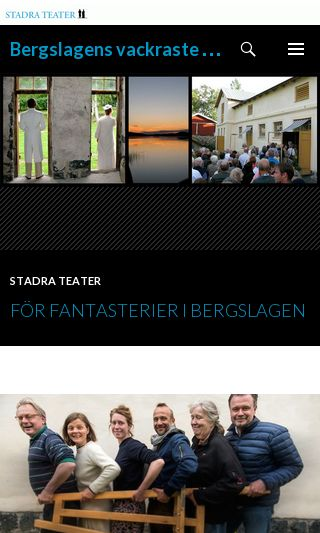 Mobile preview of stadrateater.se