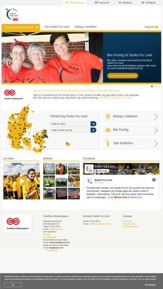 Mobile preview of stafetforlivet.dk
