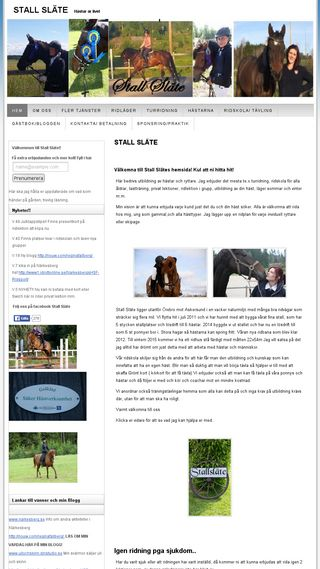 Mobile preview of stallslate.n.nu