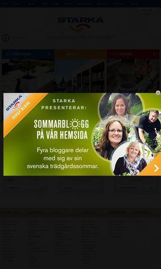 Mobile preview of starka.se