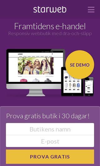 Mobile preview of starweb.se