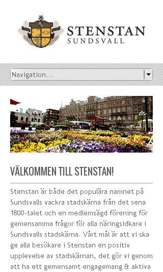 Mobile preview of stenstan.se