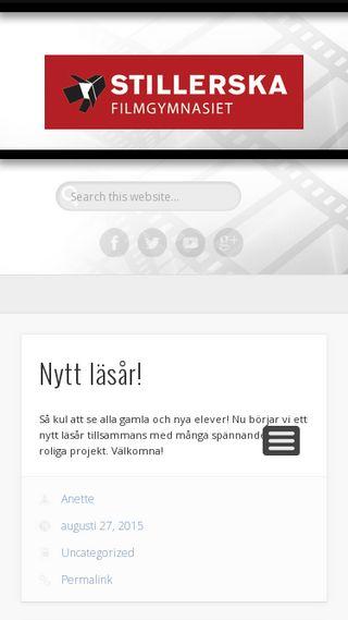 Mobile preview of stillerska.se