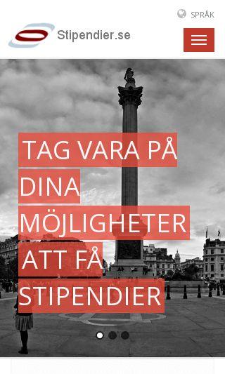 Mobile preview of stipendier.se