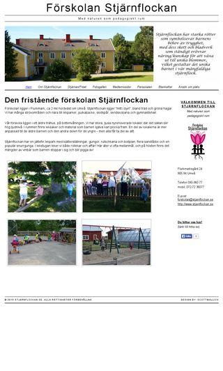 Mobile preview of stjarnflockan.se