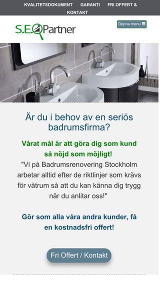 Mobile preview of stockholmbadrumsrenoveringar.net