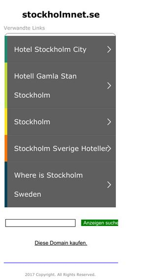 Mobile preview of stockholmnet.se