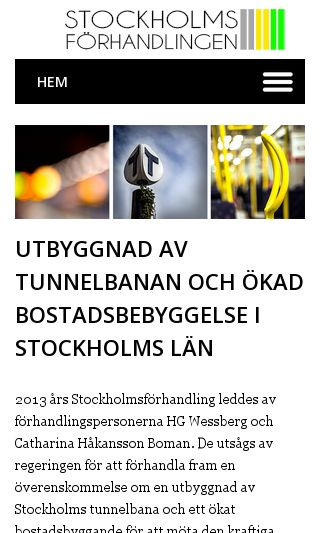 Mobile preview of stockholmsforhandlingen.se