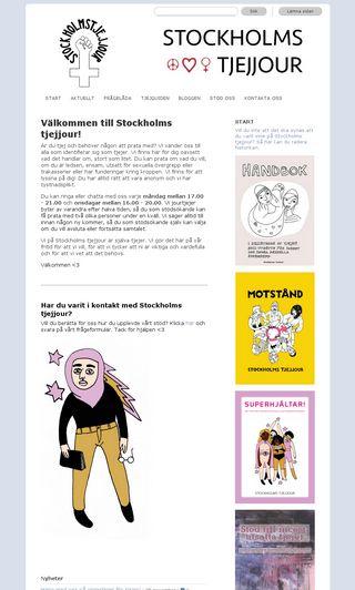 Mobile preview of stockholmstjejjour.nu