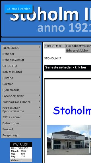 Mobile preview of fjendscup.dk