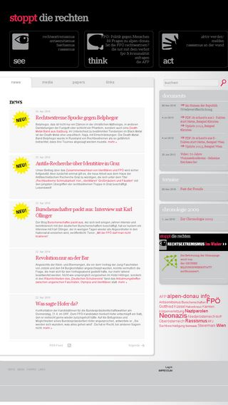 Mobile preview of stopptdierechten.at