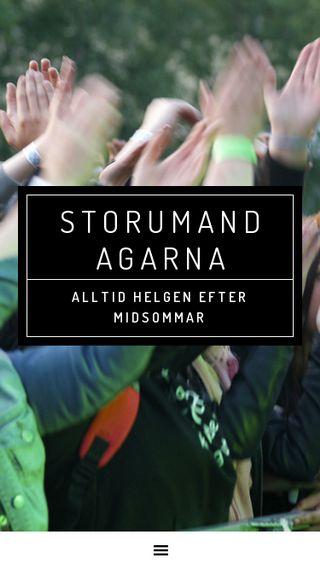 Mobile preview of storumandagarna.se