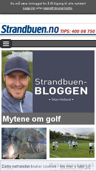 Mobile preview of avisenagder.no