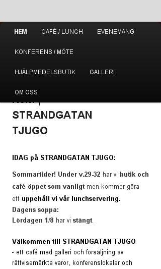 Mobile preview of strandgatantjugo.se