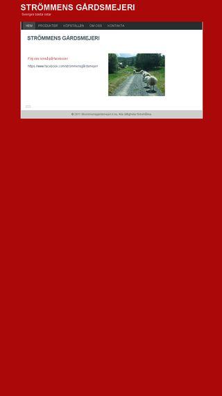 Mobile preview of strommensgardsmejeri.n.nu