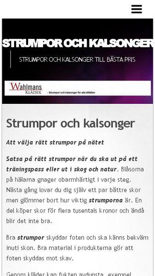 Mobile preview of strumporochkalsonger.n.nu